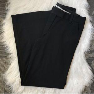 Tory Burch Black Wide Leg Trouser Pants